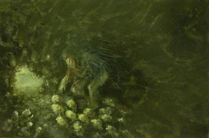 Polifemo-2012-olio su tela-40x60 cm