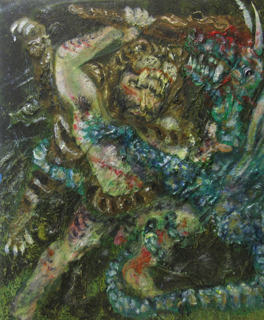 ercole- 2013- 30x25 cm-olio su tela