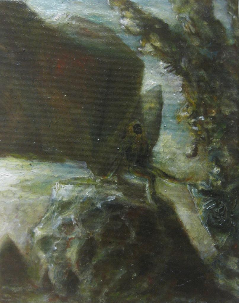 paleopeso-2013- 40x30 cm-olio su tela