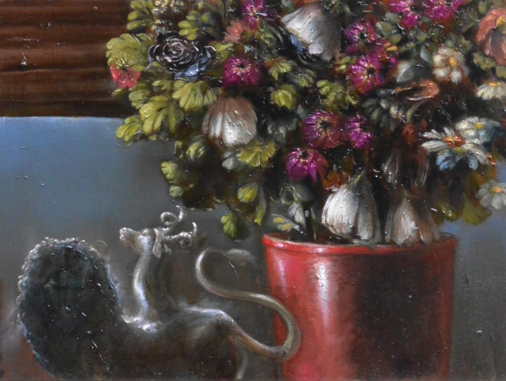 chimera e fiori